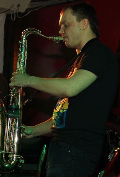Поздравление на саксофоне