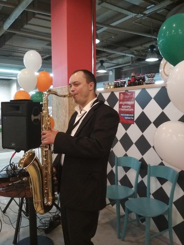 Саксофонист на банкет в Москве